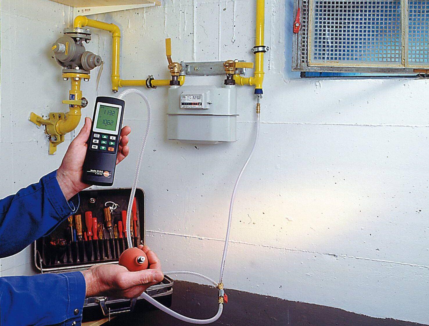 Диагностика газового оборудования в Подольске